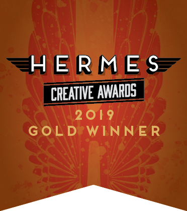 Hermes Creative Awards 2019 Gold Winner