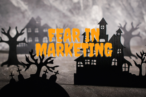 Fear in marketing spooky image